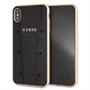 Guess carcasa Kaia Apple iPhone XS Max negra