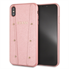 Guess carcasa Kaia Apple iPhone XS Max oro rosa