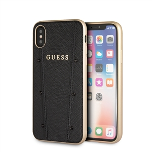 c27d3d06fca Guess carcasa Kaia Apple iPhone XS/X Max negra - Fundas.es