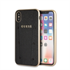 Guess carcasa Kaia Apple iPhone XS/X Max negra
