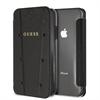 Guess funda Kaia Apple iPhone XR transparente y negra