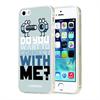 Funda TPU Gris Enrosque Apple iPhone 5/5S/SE Kukuxumusu