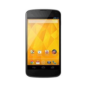 Lg - LG Nexus 4 16gb e960 black