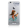 Lucía B Funda TPU Bicicleta Apple iPhone 7 Coquette