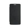 Made For Motorola - Funda Folio Negra parte Trasera Transparente Motorola Moto E4 Made for Moto