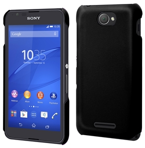 Made For Xperia - Carcasa Negra Tacto Goma Sony Xperia E4 Made for Xperia
