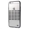 Mini Funda TPU Transparente+Negro Apple iPhone 6/6S Plus