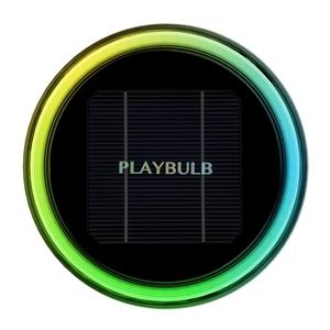 Mipow - Luz de Jardín con Led Multicolor Bluetooth y Carga Solar Playbulb Garden Mipow
