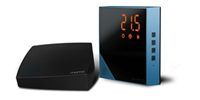 Pack Termostatpo negro + Gateway para el hogar Home Thermostat Momit