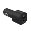 Muvit For Change muvit for change cargador coche 1 USB QC 3.0 18W+1 Tipo C PD 20W negro
