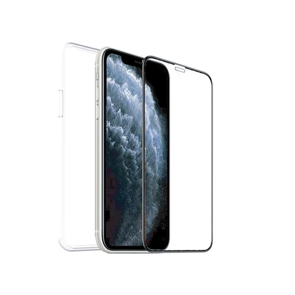 Muvit For Change - muvit for change pack Apple iPhone SE/8/7 funda recicletek + protector de pantalla vidrio templado p