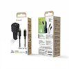 Muvit For Change - muvit for change pack cargador coche Tipo C PD 20W + cable tipo C a lightning 2.4A 1m negro