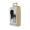 Muvit For Change muvit for change pack cargador coche USB 2 puertos 2.4A + cable 1.2m tipo C negro