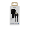 Muvit For Change - muvit for change pack cargador coche USB 2 puertos 2.4A + cable 1.2m tipo C negro