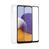 Muvit For Change muvit for change pack Samsung A22 5g funda Cristal Soft + protector de pantalla vidrio templado plan