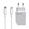 Muvit For Change - muvit for change pack transformador Tipo C PD 20W + cable tipo C a lightning 2.4A 1m blanco