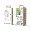 Muvit For Change - muvit for change pack transformador Tipo C PD 20W + cable tipo C a tipo C 3A 1m blanco