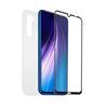Muvit For Change muvit for change pack Xiaomi Note 8T funda transp.+protec.de pantalla vidrio templado plano marco ne