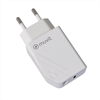 Muvit For Change muvit for change transformador 1 USB QC 3.0 18W+1 Tipo C PD 20W blanco