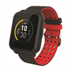Muvit I/O Reloj de Actividad y Sueño Trendy Negro/Rojo muvit I/O