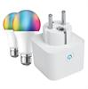 Muvit Io Pack Smart: Enchufe Inteligente + 2 bombillas A60 E27 800lm