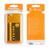 Muvit Life - Funda Minigel Naranja Fluor con ranura para tarjetas Pass Pass Apple iPhone 6/6S muvit life