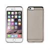 Muvit Life Funda Tpu marco Plata con cristales Diam Apple iPhone 6/6S muvit life