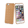 Muvit Life - Funda Tpu cuadros marron con proteccion Sixty Apple iPhone 6/s6 muvit life