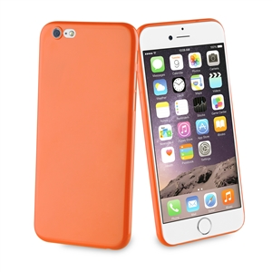 Muvit Life - Funda Ultrafina naranja Fever Apple iPhone 6/6S muvit life
