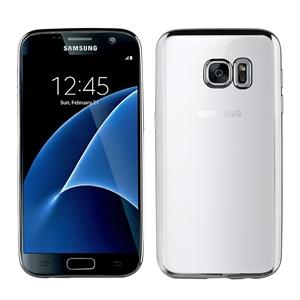 Muvit Life - Funda Tpu marco Plata Bling Samsung Galaxy S7 muvit life