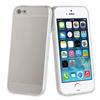 Muvit Life Funda TPU Aluminio Plata ALLOY iPhone SE muvit life