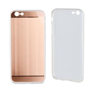Muvit Life - Funda TPU Aluminio Rose Gold ALLOY iPhone 6/6S muvit life