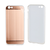 Muvit Life Funda TPU Aluminio Rose Gold ALLOY iPhone 6/6S muvit life