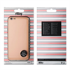 Muvit Life - Funda TPU Aluminio Rose Gold ALLOY iPhone 6 Plus/6S Plus muvit