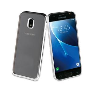 Muvit Life - Funda TPU marco Negro Bling para Samsung Galaxy J3 2017 muvit Life