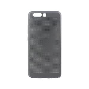 Muvit Life - Carcasa Semirígida Mesh Gris Espacial muvit Life para Huawei P10