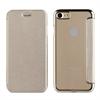 Muvit Life Funda Transparente BLING FOLIO Dorada con marco Dorado Apple iPhone 7 muvit Life