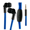 Muvit Life Auriculares estéreo LACE Azul 3.5mm con micrófono muvit life