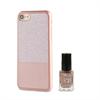 Muvit Life Funda Ultrafina Rose Gold ITNAIL + Laca de uñas Rosa Apple iPhone 7 muvit Life