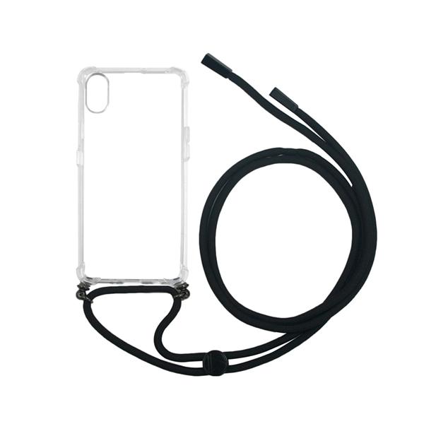 Muvit Life - muvit life carcasa Apple iPhone XR con colgante transparente