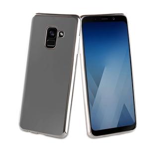 Muvit Life - Funda Tpu marco Plata Bling Samsung Galaxy A8 2018 muvit Life