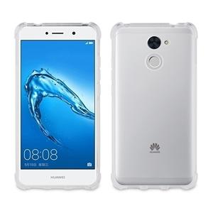 Muvit Pro - Funda TPU Transparente Shockproof con enganche para colgante Huawei Y7 muvit pro