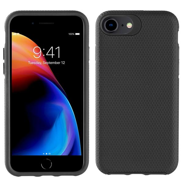 Muvit Tiger - muvit Tiger funda Triangle Apple iPhone SE shockproof 1,2m negra