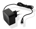 Transformador Micro USB 1A Negro Muvit
