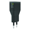 Muvit Transformador USB Negro 2.4A muvit