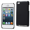 Muvit Funda Carcasa Trasera Negra Tacto Goma Apple iPhone Low Cost