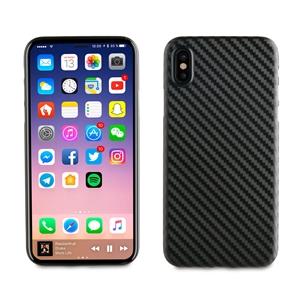 Muvit - Carcasa Negra Fibra Carbono &quote;Edición especial&quote; Apple iPhone 8 muvit
