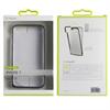 Muvit - Funda Bumper Gris Espacial aluminio + Nanofilm trasero Apple iPhone 7 muvit