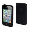 Funda Silicona Negra Apple iPhone 4/4S Muvit