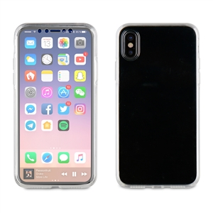 Muvit - Funda Crystal 3D Transparente Apple iPhone 8 muvit